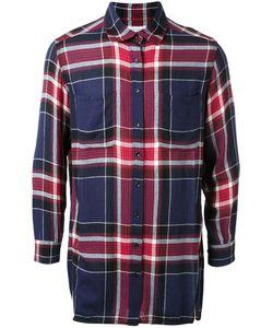 Fad Three   Flannel Plaid Shirt Adult Unisex Rayon/Wool