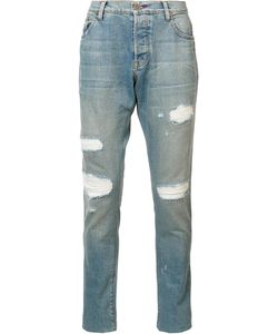 En Noir | Thermal Patch Jeans 33
