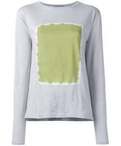 Suzusan | Square Print Jumper Medium Cotton/Cashmere