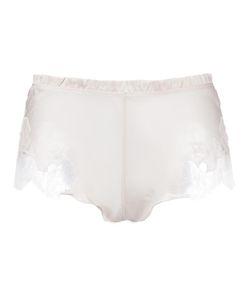 Carine Gilson | Lace Insert Boxers Small Silk/Spandex/Elastane