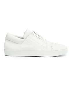 Alexandre Plokhov | Creased Low-Top Sneakers 42 Rubber/Leather