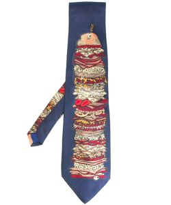 Moschino Vintage   Patterned Tie