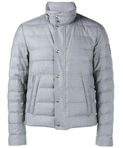 Moncler Gamme Bleu | Quilted Wool Jacket 3 Feather