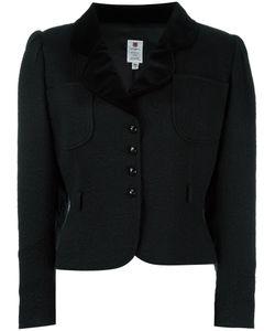Emanuel Ungaro Vintage   Jacquard Cropped Jacket