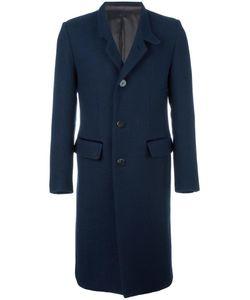 Umit Benan | Notched Lapel Mid-Length Coat 48 Virgin