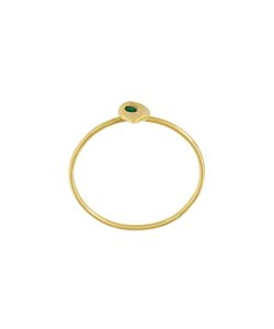 Natasha Collis | Emerald Stacking Ring M 1/2