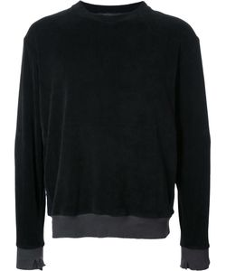 Longjourney   Round Neck Sweatshirt Large Cotton