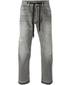 Andrea Pompilio | Distressed Drawstring Jeans