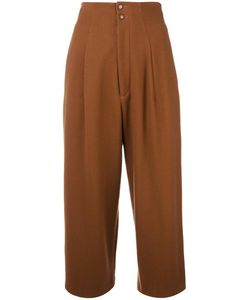 Yohji Yamamoto Vintage | Cropped Pleated Trousers