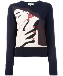 Yazbukey | Voyeurism Sweatshirt Large Cotton