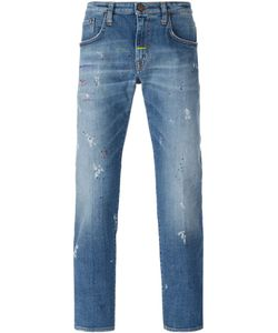 +People | Paint Splatter Slim Jeans