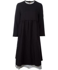 Aleksandr Manamïs | Split Open Back Dress I Wool/Cotton/Ramie