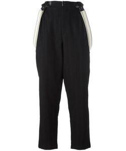 Aleksandr Manamïs | Tailored Waistband Trousers I Wool/Cotton/Ramie