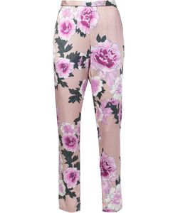 Fleur Du Mal | Contrast Back Pajama Trousers Medium