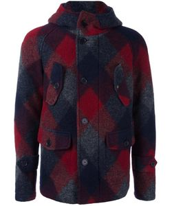 Equipe '70 | Plaid Coat 48 Virgin Wool/Polyester/Cotton/Polyamide
