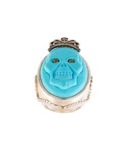 Amedeo | Embossed Skull Ring 7 1/4
