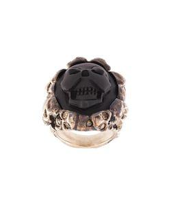 Amedeo | Embossed Skull Ring 7 1/2