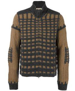 Al Duca D'Aosta | 1902 Check Knit Cardigan Medium