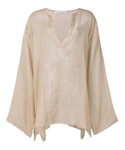 Denis Colomb | Sayan Striped Tunic Medium Cashmere/Cotton