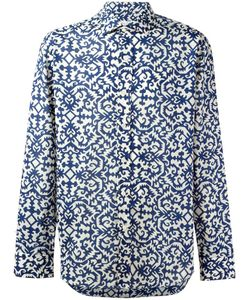 Salvatore Piccolo | Printed Sport Shirt 43 Cotton