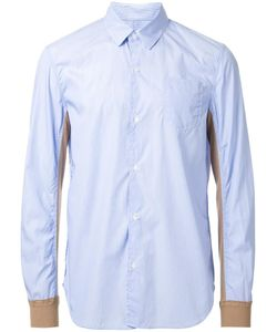 Undercover | Bicolour Slim-Fit Shirt 3 Cotton