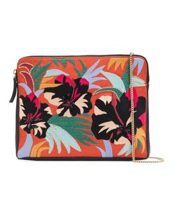 Lizzie Fortunato Jewels | Cuban Hibiscus Clutch