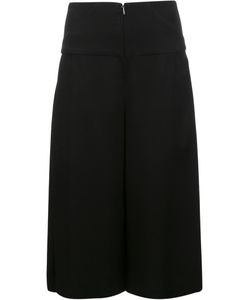 Zero + Maria Cornejo | Cropped Wide-Leg Trousers 6