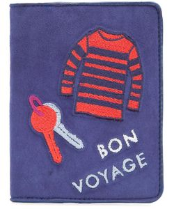 Lizzie Fortunato Jewels | Bon Voyage Passport Case Suede