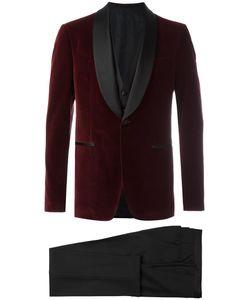 Salvatore Ferragamo | Three-Piece Smoking Suit 54 Cotton/Cupro/Viscose