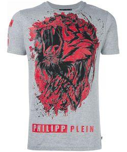 Philipp Plein | Lion Roar T-Shirt Large Cotton