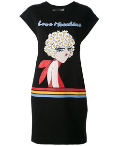 Love Moschino | Logo Print T-Shirt Dress