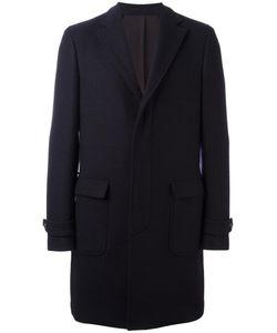 Salvatore Ferragamo | Single Breasted Check Coat 54