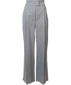 Barbara Casasola | High-Rise Tailored Trousers 42 Cashmere/Wool