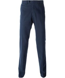 Salvatore Ferragamo | Straight Leg Trousers 48 Cotton/Spandex/Elastane