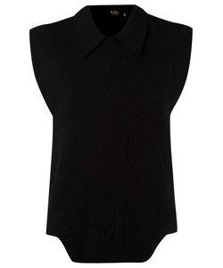 Gig | Texturized Knit Blouse Medium Elastodiene/Polyamide/Viscose