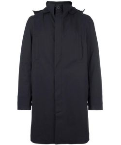 Norwegian Rain | Single Breasted Coat Large Recycled Polyester/Polyester/Viscose/Cashmere