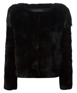 Unconditional | Beaver Fur Shoulder Jacket Medium Rabbit Fur/Beaver