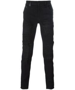 Marcelo Burlon County Of Milan   Distressed Slim Jeans 30