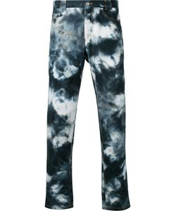 Casely-Hayford | Bleached Slim-Fit Jeans 40