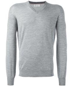 Brunello Cucinelli | V-Neck Jumper 52 Cashmere/Wool
