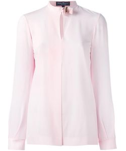 Salvatore Ferragamo | Vara Bow Collar Shirt 38 Silk