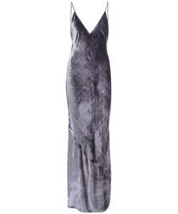 Fleur Du Mal | Velvet Bias Slip Dress 6