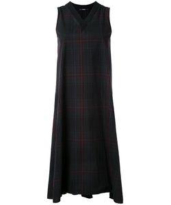 Assin | Plaid Sleeveless Dress Xl