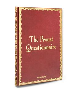 Assouline | The Proust Questionnaire Book