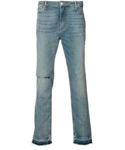 Ovadia & Sons | Distressed Straight-Leg Jeans