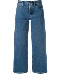 Ports | 1961 Cropped Wide-Leg Jeans