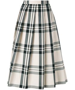 Sofie D'hoore   Check Pleated Skirt Size 40