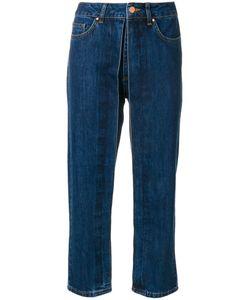 Aalto | Fixed Pleats Cropped Jeans
