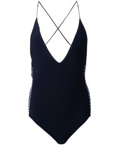 Dion Lee | Laced Coil One-Piece 6 Polyester/Spandex/Elastane