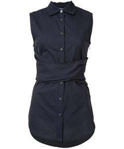 Derek Lam 10 Crosby | Cross Strap Sleeveless Shirt